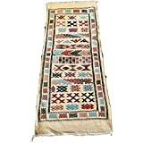 Tapis Kilim Amazigh marocain Tapisserie ethnique orientale africain original laine