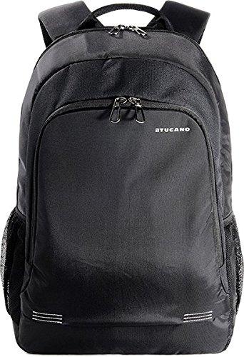 Tucano Forte Pack - Zaino in nylon per notebook da 15.6' e MacBook Pro 15' Retina, Nero
