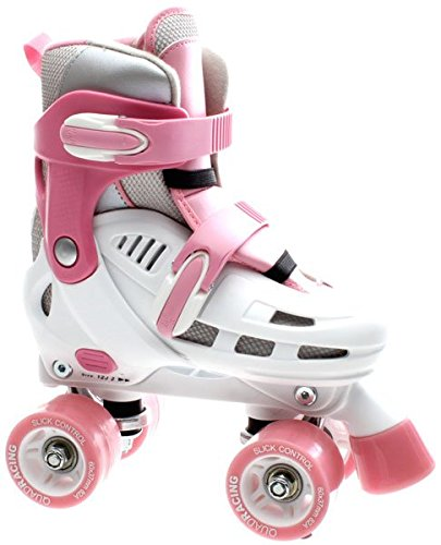 sfr-storm-adjustable-quad-skates-white-and-pink-size-3-6-by-sfr