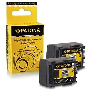 2x Batterie BP-807 / BP-808 / BP-809 pour Canon LEGRIA HF G10   HF G25   HF M31   HF M32   HF M36   HF M40   HF M41   HF M46   HF M300   HF M306   HF M307   HF M400   HF M406   HF S10   HF S11   HF S20   HF S21   HF S30   HF S100   HF S200   HF20   HF21   HF200   HG20   HG21   HF G10   HF G20   HF M30 et bien plus encore…