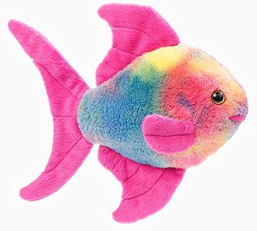 EBO 60545 - Regenbogenfisch, 16cm, pink-bunt