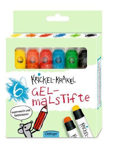 Preisvergleich Produktbild Krickel-Krakel Gelstifte