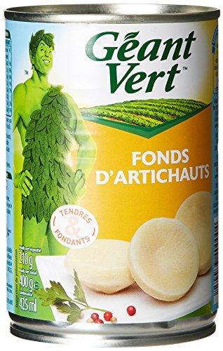 Géant Vert Fonds d'Artichauts la Boite de 210 g