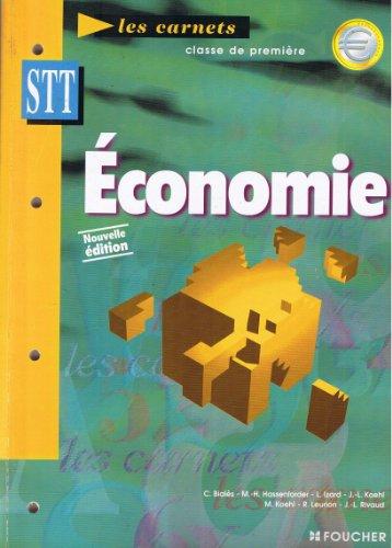 Economie : 1re STT