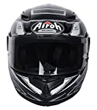 CASCO T 600 KNIFE BLACK GLOSS AIROH TG M NEW 2016