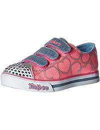 Skechers Mädchen Sparkle Glitz-Heartsy Glam Sneakers
