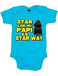 Body bebé Star Wars estar con mi papi es Star Way