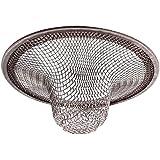 EJY filtre en acier inoxydable pour cuisine évier lavabo baignoire (M Dia extérieur 7cm)