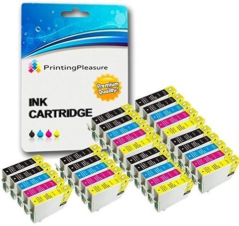 30 XL Tintenpatronen kompatibel zu Epson T1281-T1284 (T1285) für Stylus