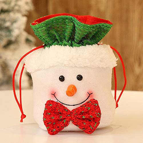 jieGREAT ❄ Weihnachten Deko❄ ,Weihnachten Candy Party Geschenk Tasche Dekorationen Xmas Lagerung Verpackung Wrapper liefert