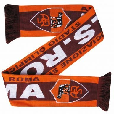 as-roma-football-crest-scarf