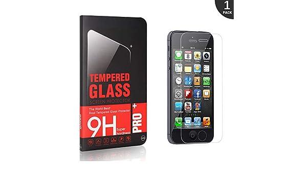 3D Touch Installation Facile Protection en Verre Tremp/é /Écran pour iPhone Se//iPhone 5 5s GIMTON Verre Tremp/é pour iPhone Se//iPhone 5 5s Duret/é 9H 1 Pi/èces