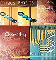 NCERT Combo textbooks class 12th physics part 1&2 chemistry part 1&2 and biology (pack of