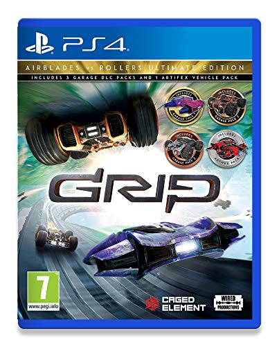 Grip: Combat Racing - Rollers Vs Airblades Ultimate Edition (PlayStation 4) (PS4) Best Price and Cheapest
