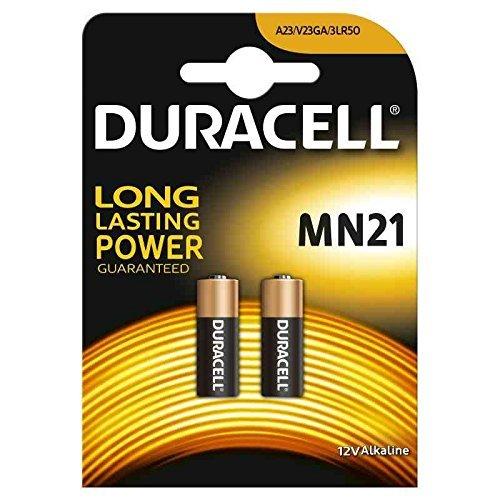 2 piles 23A A23, V23GA 23AE, piles alcalines MN21 LRV08 12...