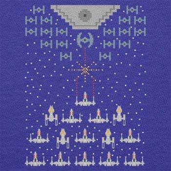 Texlab–Pixel Wars–Sacchetto di stoffa Marine