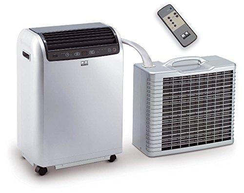 Remko RKL 491 DC Split Climatisation pour une Pièce de 120 m3 ! puissance de refroidissement 4,3 kW Argenté (Ref 1615491)