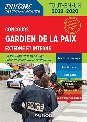 Concours Gardien de la paix - 2019-2020 - Externe et interne - Tout-en-Un par Benoît Priet