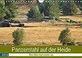 Panzerstahl auf der Heide - Das Heer legt wieder los (Wandkalender 2019 DIN A4 quer): Leopard 2 Panzer (Monatskalender, 14 Seiten ) (CALVENDO Technologie)