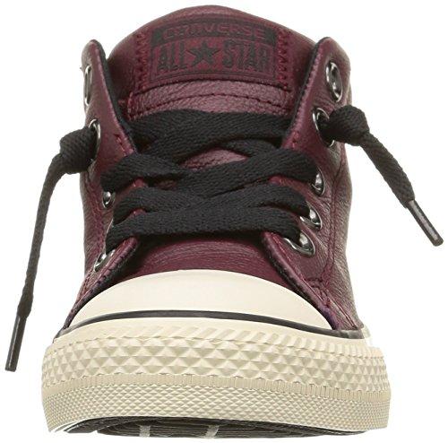 Converse Ctas Street Mid Unisex-Kinder Sneaker Rot