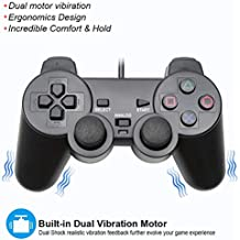 Exquisite PS2 Wired Dualshock Generic Controller compatible with Sony Playstation-2