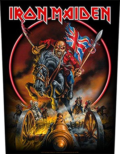 Iron Maiden England '88 Parche espalda Standard