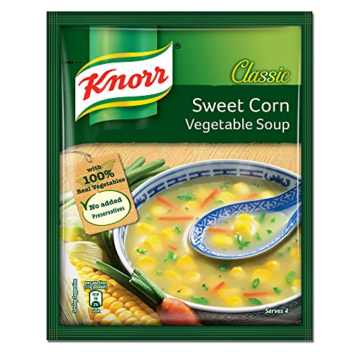 Knorr Chinese Sweet Corn Veg Soup, 44g