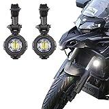 AUX-Leuchten Nebel LED 40 W Lampen für Motorrad BMW R1200GS F800GS F650 LC ADV KTM 1190 1190R 1290 …