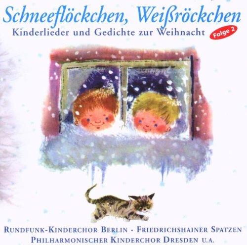 Schneeflöckchen, Weißröckchen Kinderchor CD