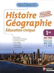 Histoire - Géographie - Éducation civique - 1Ére BAC PRO