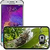 Just carcasa caliente estilo teléfono celular PC Funda rígida//m00139210Black Cherry Caterpillar Spun hilo//Samsung Galaxy S6Edge (no para S6)