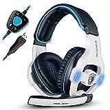 Komfortables 3,5-Mm-Stereo-Stereo, Kopfhörer Mit Mikrofon Für Pc-Spiele, Rauschunterdrückung Und Lautstärkeregelung, USB-Stecker Kopfhörer