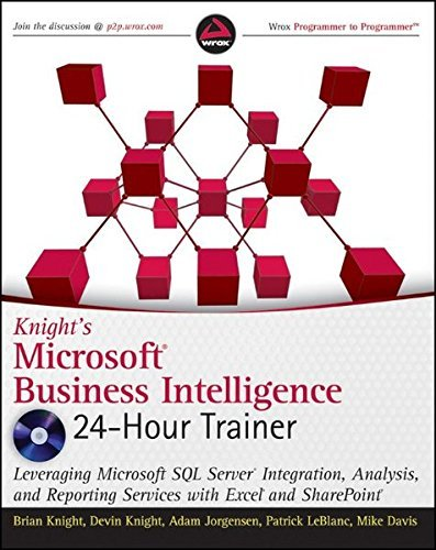 Knight's Microsoft Business Intelligence 24-Hour Trainer (Book & DVD) by Brian Knight (2010-09-28)