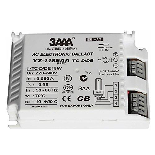 3AAA HID 135E/220–24036W Professionelle ECG hid-ecg Elektronische Vorschaltgerät für HID Lampen HCI/CDM/HQI/HPI/MHN 35W × 1T Leuchtstofflampe & #-; 110× 75× 30mm