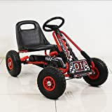 Motor Racing Style Kids Childrens Pedal Go Kart On Rubber Wheels by Beauty4Less...