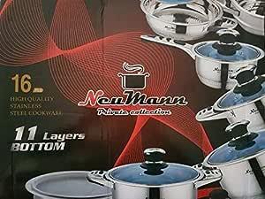 batterie de cuisine neumann amovible 14 pcs