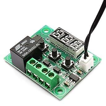 W1209 -50~100 digital temperature controller thermostat temperature control thermostat switch plate