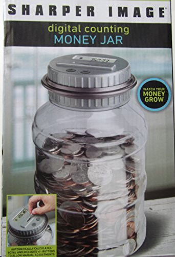 sharper-image-digital-counting-money-jar-with-lcd-display-counts-all-us-coins-by-sharper-image