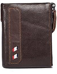 67a0e604b07cc Yamyannie Herren Geldbörse Münzfach Short Man Business Geldbörse praktische  minimalistischen Stil Handtasche Pocket Wallet Reißverschluss Taschen