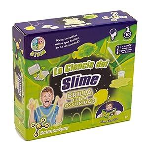 Science4you - La Ciencia del Slime - Brilla en la Oscuridad (609518) de Science4You