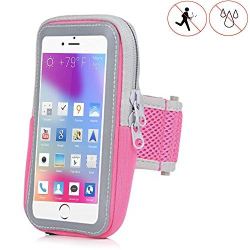 X-Tab Handy Armband für HTC Exodus 1 Sportarmband zum Laufen, Joggen, Radfahren SPO-2 pink