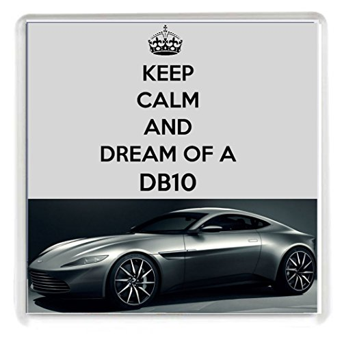 keep-calm-and-dream-of-a-db10-drinks-coaster-with-an-image-of-a-silver-aston-martin-db10-as-driven-b