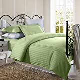 #7: Linenwalas Premium Cotton Stripes Double Duvet Cover(90