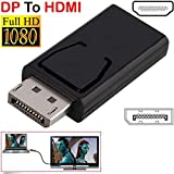 Adapter-Konverter für HDTV, DP-Stecker auf HDMI-Buchse