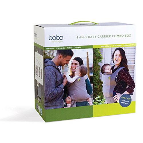 Boba Carrier 2 Combo Box - Pack de 2 portabebés