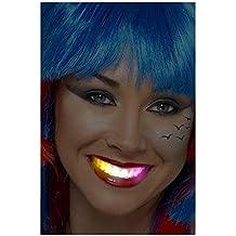 Shihan intermitente flash Brace Protector bucal Disfraces Fiesta LED Suministros de diente divertido