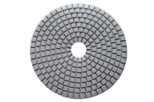 Marmor-und Granit-fliesen (125mm Polierscheiben für Granit,Marmor,Stein,Fliesen polieren (trocken) K200)