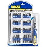 Kinzo 54198 Kit de Mèches/Embouts