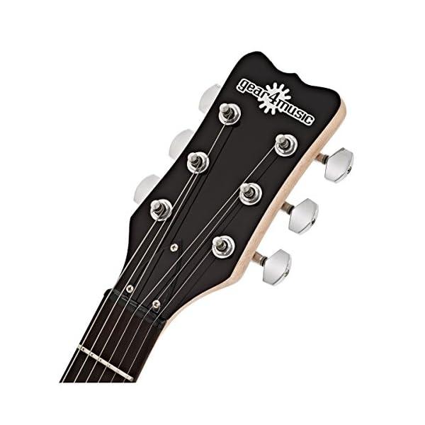 3/4 New Jersey II chitarra elettrica di Gear4music nero