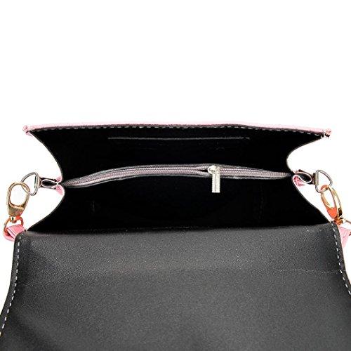 BZLine® Frauen Hirsch Handtasche Überhängen Tasche Schultertasche Tote Tasche Schwarz